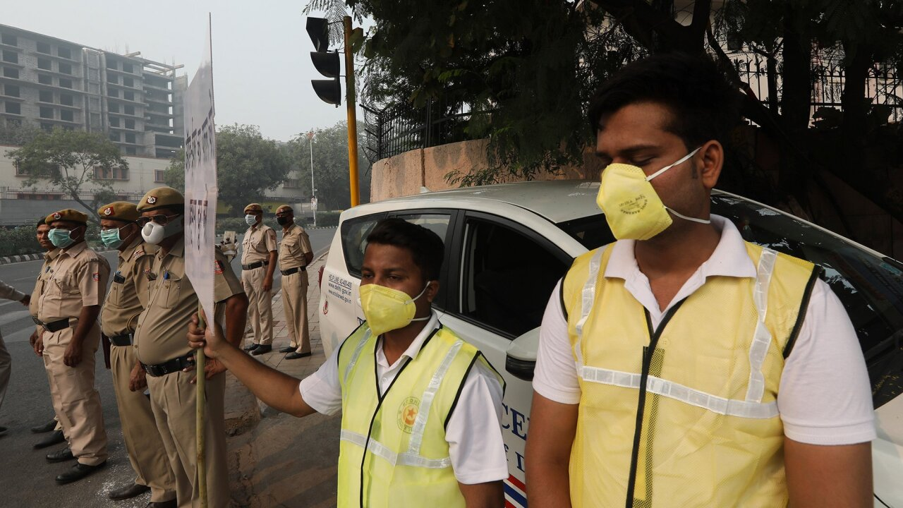 The perfect storm fueling New Delhi's deadly pollution