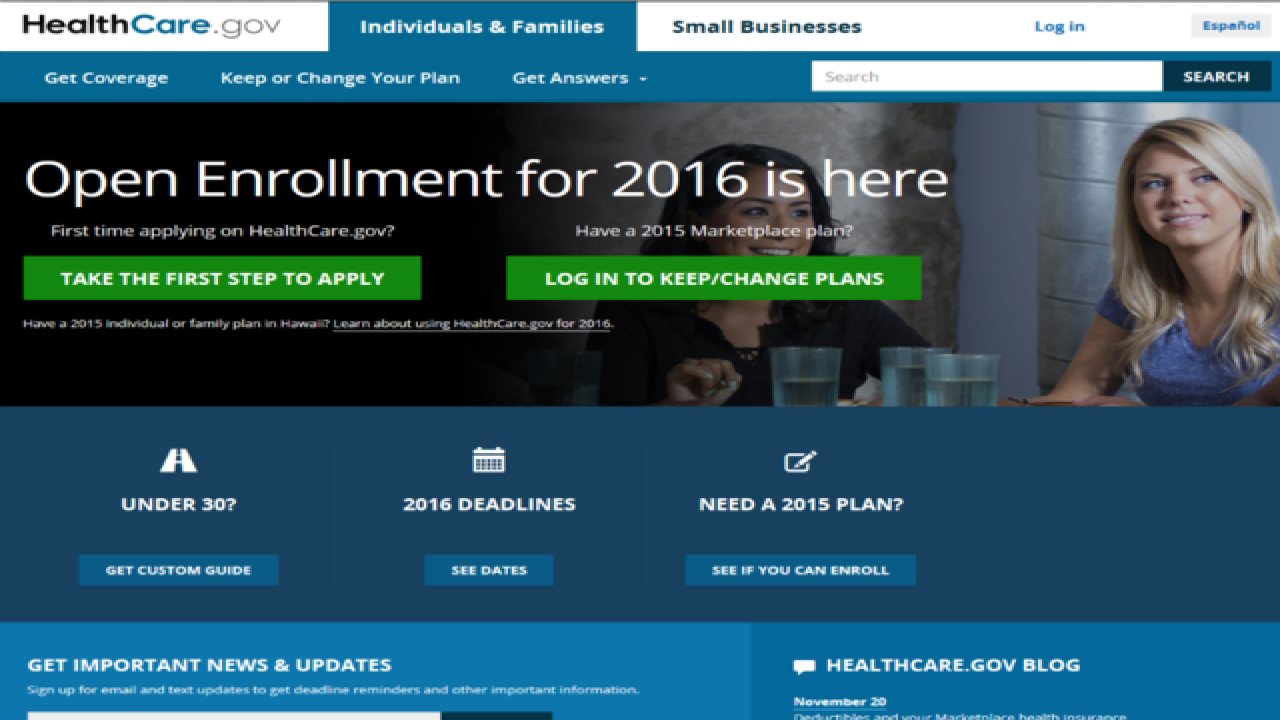 2016 Obamacare coverage deadline approaches