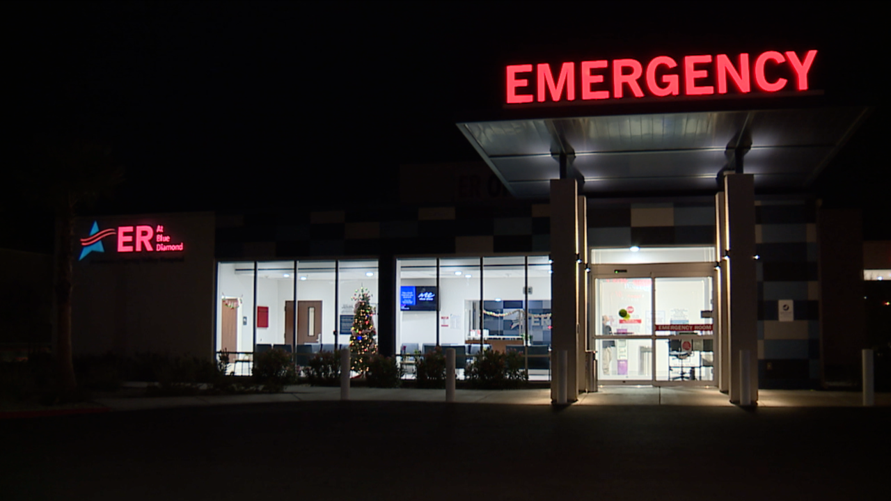 ER at Blue Diamond is an extension of Spring Valley Hospital and a member of the Valley Health System.