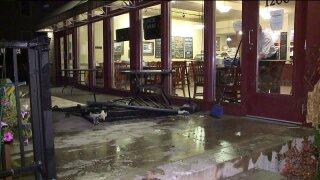Closer look at crash at Hall Street Bakery