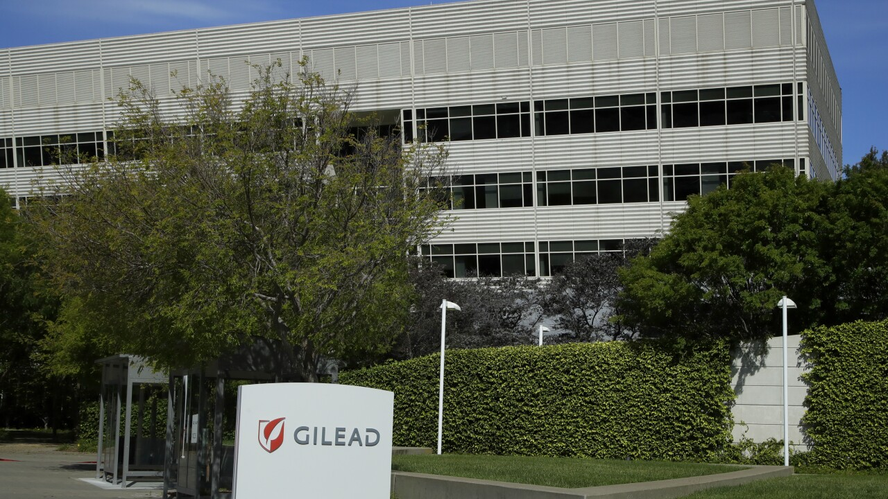 Gilead's COVID-19 treatment, remdesivir, will cost $2,340 for some and $3,120 for others