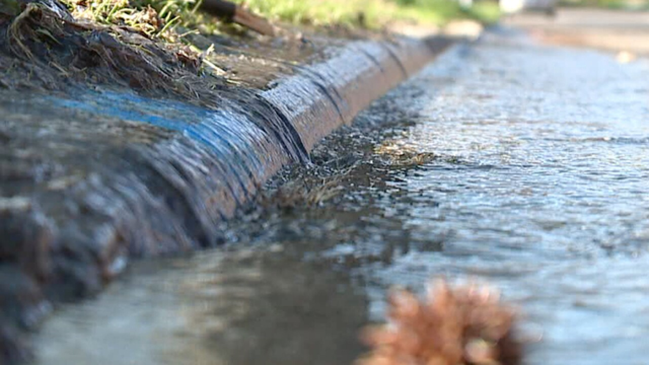 CLE Heights street plagued by water line leak