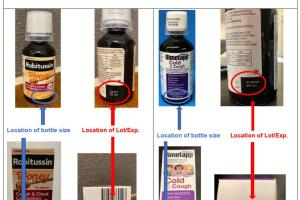 More detail about cough syrup recall