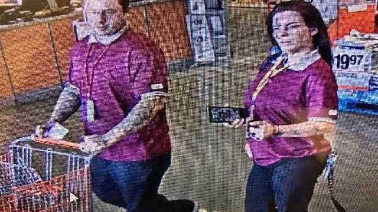 BPD needs help identifying two people accused of stealing from Home Depot