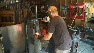 Dinwiddie father-son duo find nationwide success with unique skill