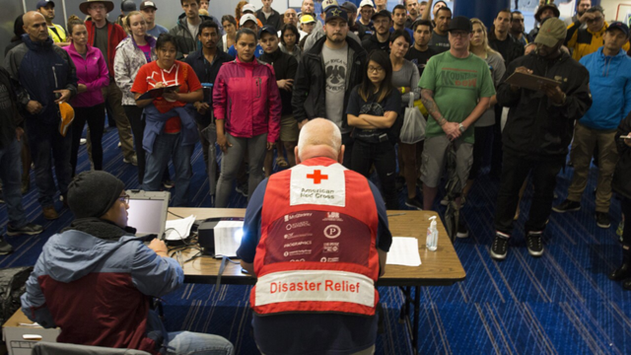 Red Cross prepares to balance relief efforts