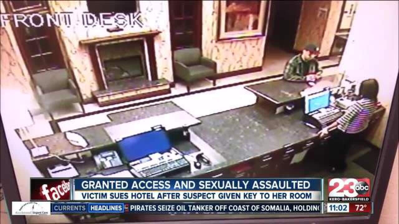 Sexual assault victim sues local hotel