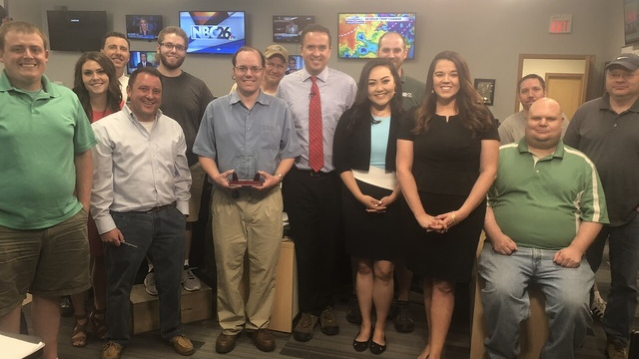 Special thanks to our NBC26 Assignment Editor