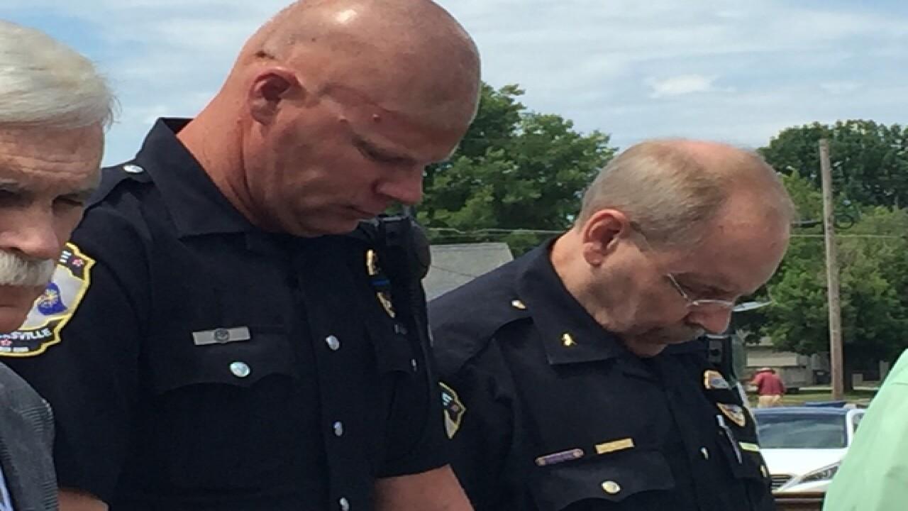 PHOTOS: C. Indiana vigils for Dallas attacks