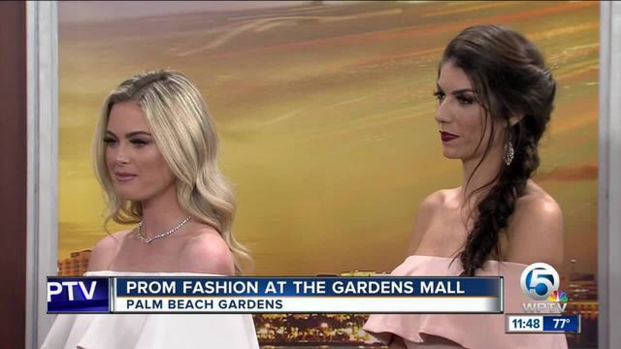 Prom fashion at the Gardens Mall