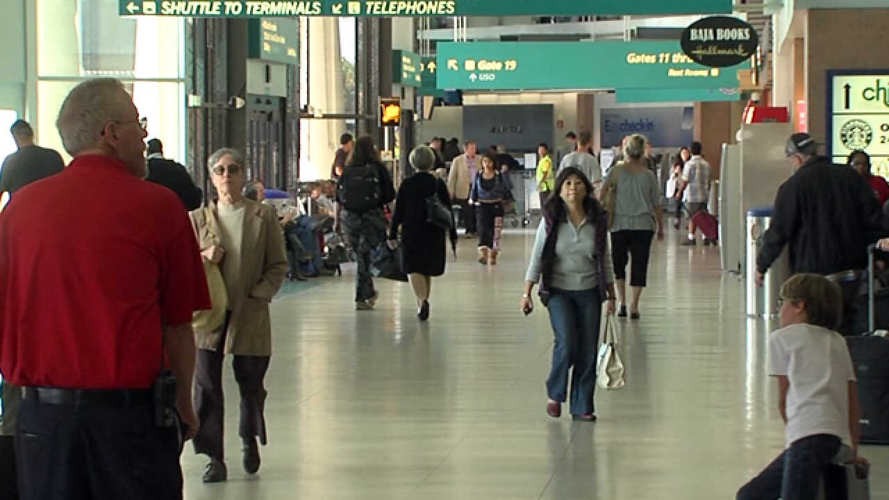 Dozens of flights delayed at San Diego airport