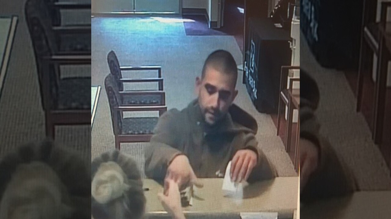 Arrest Made In Fifth Third Bank Robbery
