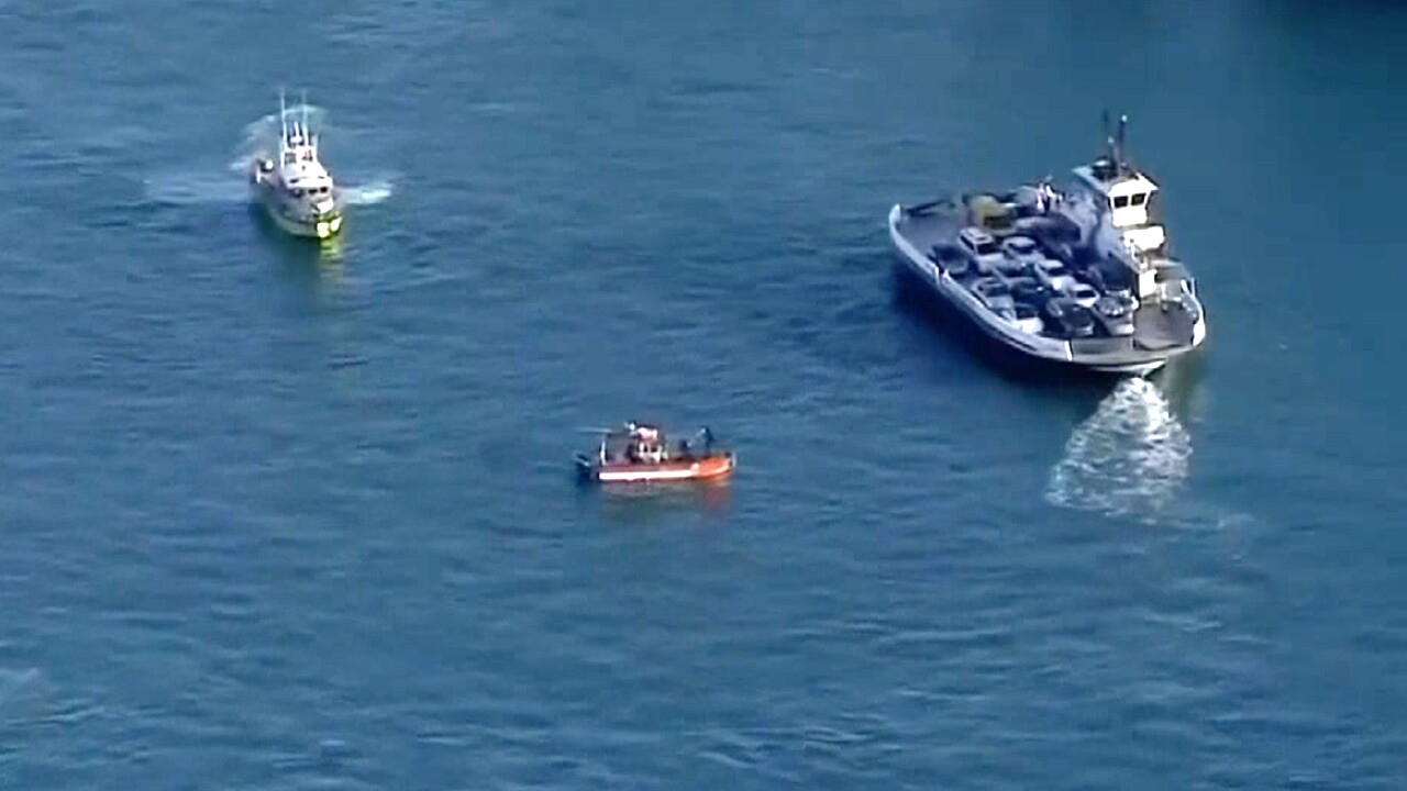 The bodies of two women have been discovered in a car that rolled off a ferry into a deep shipping channel in South Florida. News outlets report they were found Tuesday in the blue Mercedes-Benz, which fell from the Fisher Island ferry and sank in Government Cut.