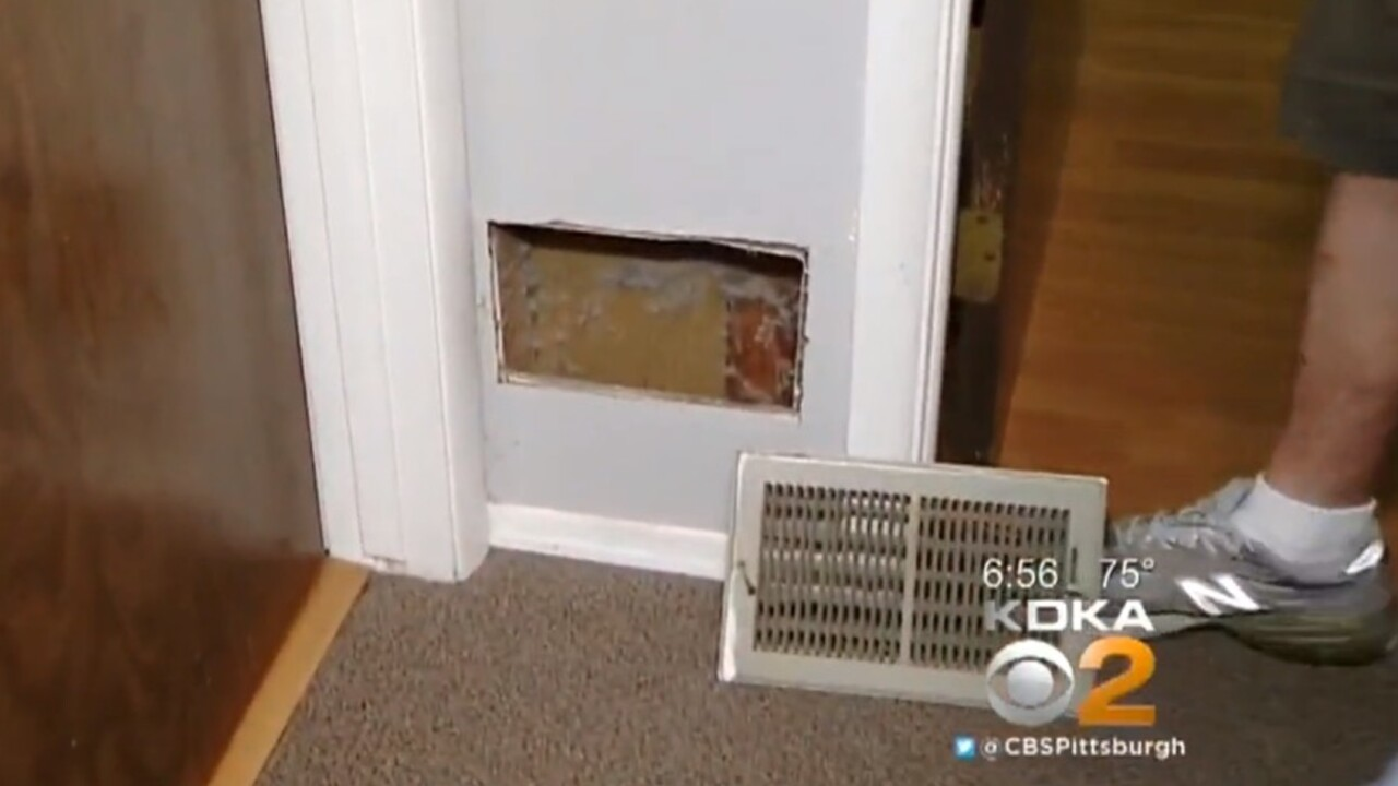 Alarm clock stuck inside wall for 13 years goes off every day