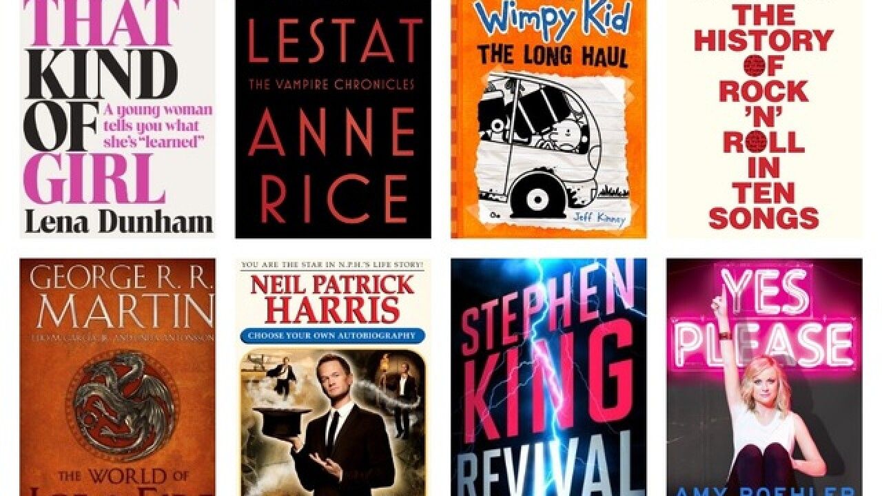 Fall 2014's biggest book releases