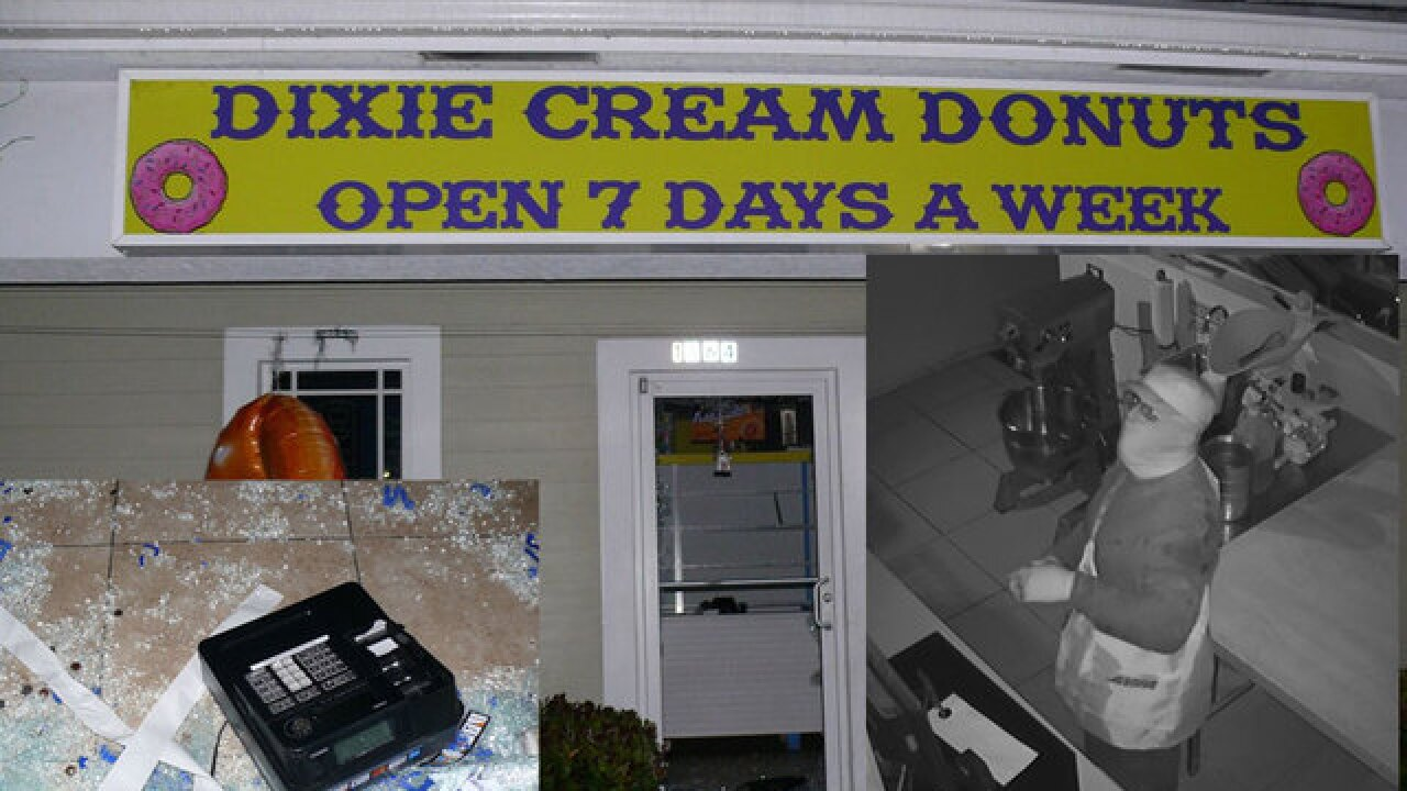 Clumsy thief breaks into Port St. Lucie donut shop, hits head while leaving