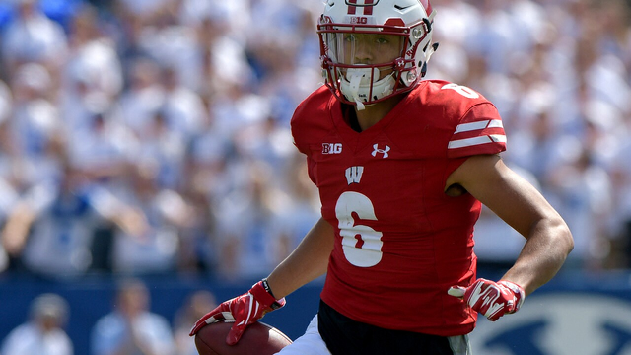 Badgers WR suspended first 2 games