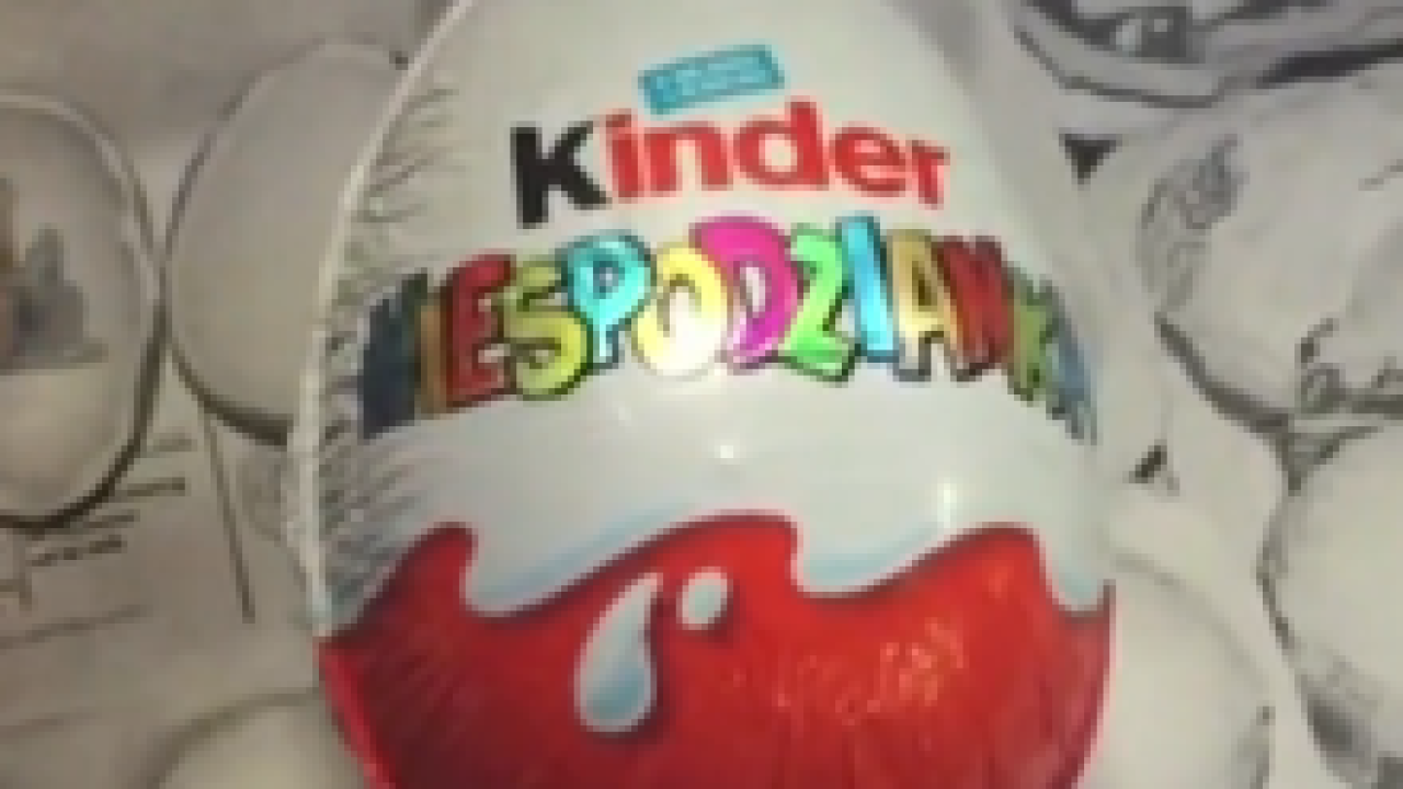 Kinder eggs are coming to U.S. stores next year