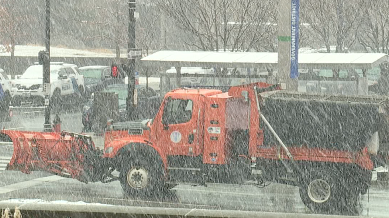 Cold weather and snow Kansas City metro
