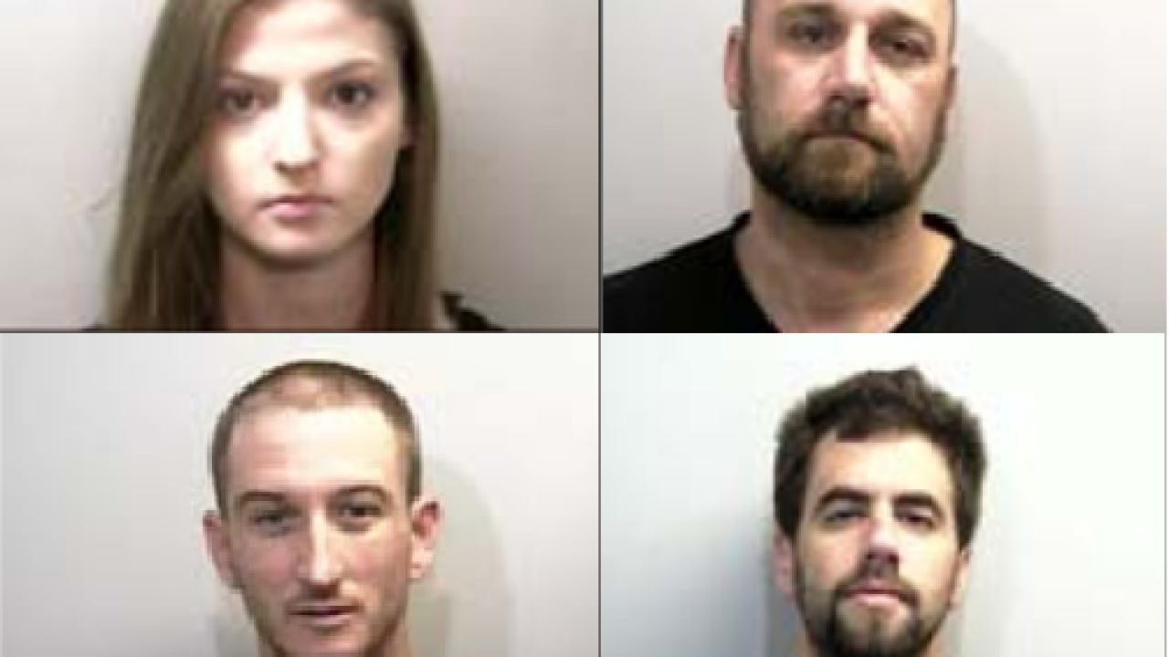 Three People Arrested for Mailing Meth to Leon County Jail