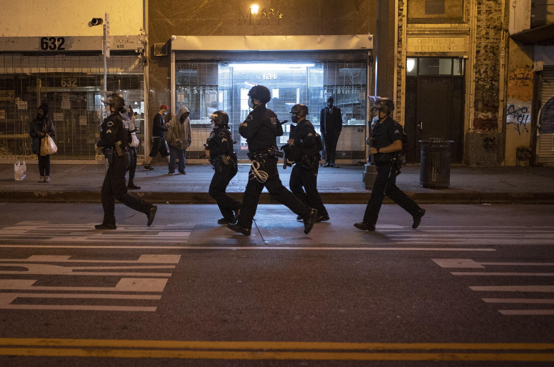Minneapolis Police Death Protests Los Angeles