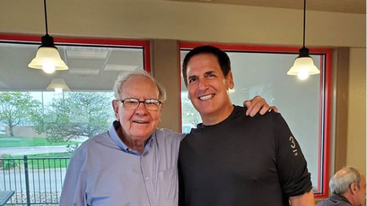 Warren Buffett and Mark Cuban
