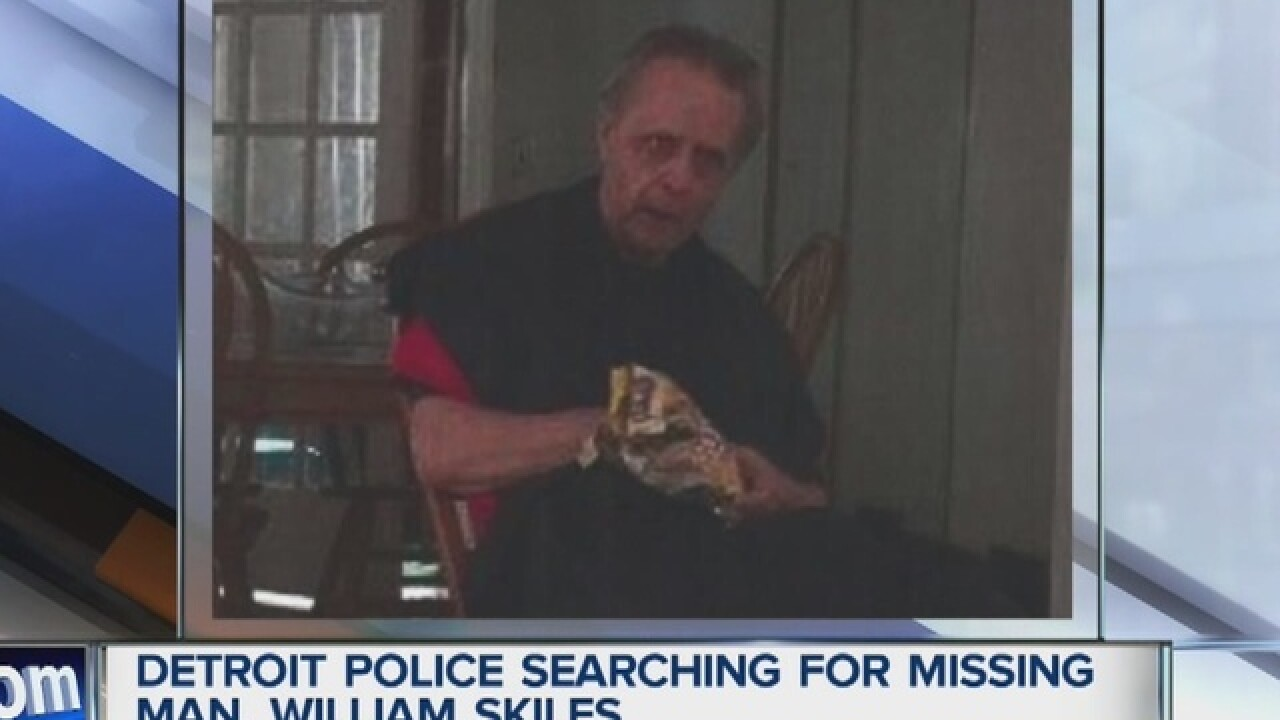 Missing man with schizophrenia in Detroit