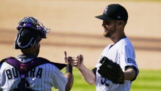Giants Rockies Baseball