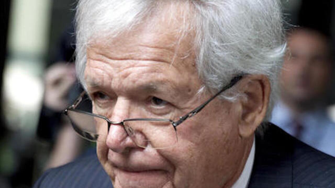 Victim sues ex-Speaker Dennis Hastert, says he is owed $1.8M