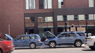 Missoula BLM protests gather downtown in cars and on bikes