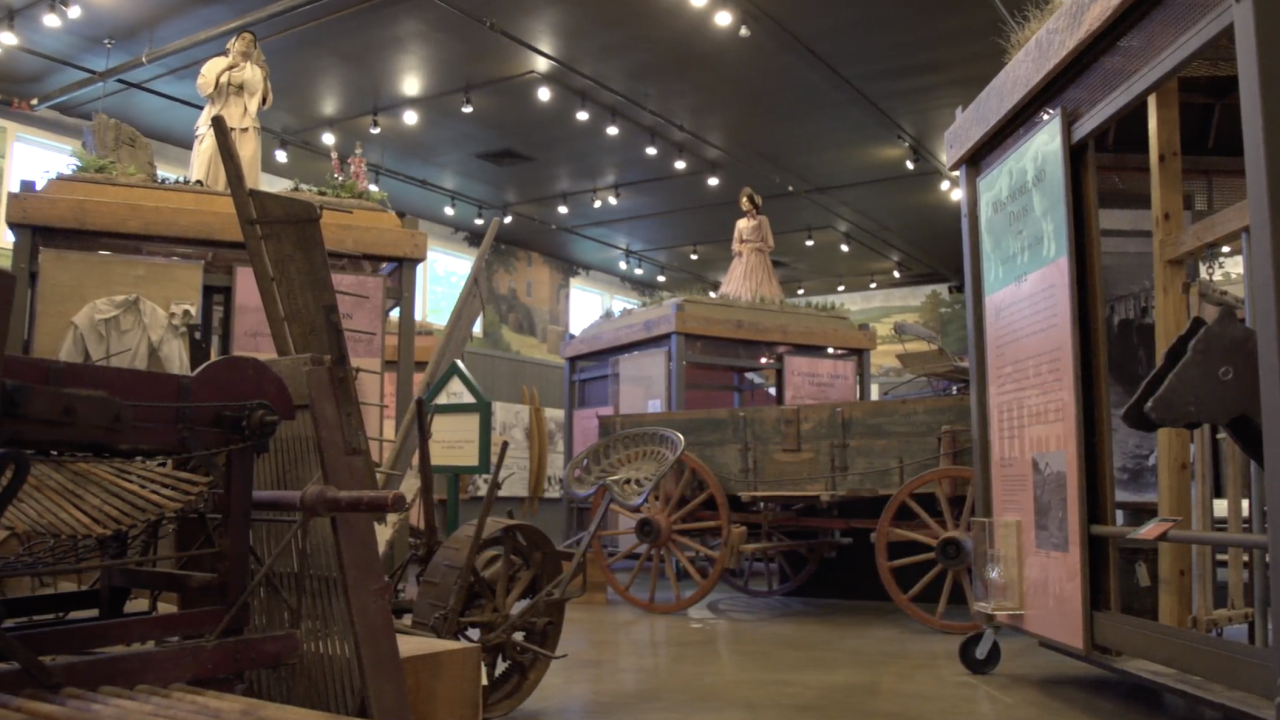 At the Loudoun Heritage Farm Museum in Loudon County, Virginia, 250 years of agricultural life is carefully maintained for all to see.