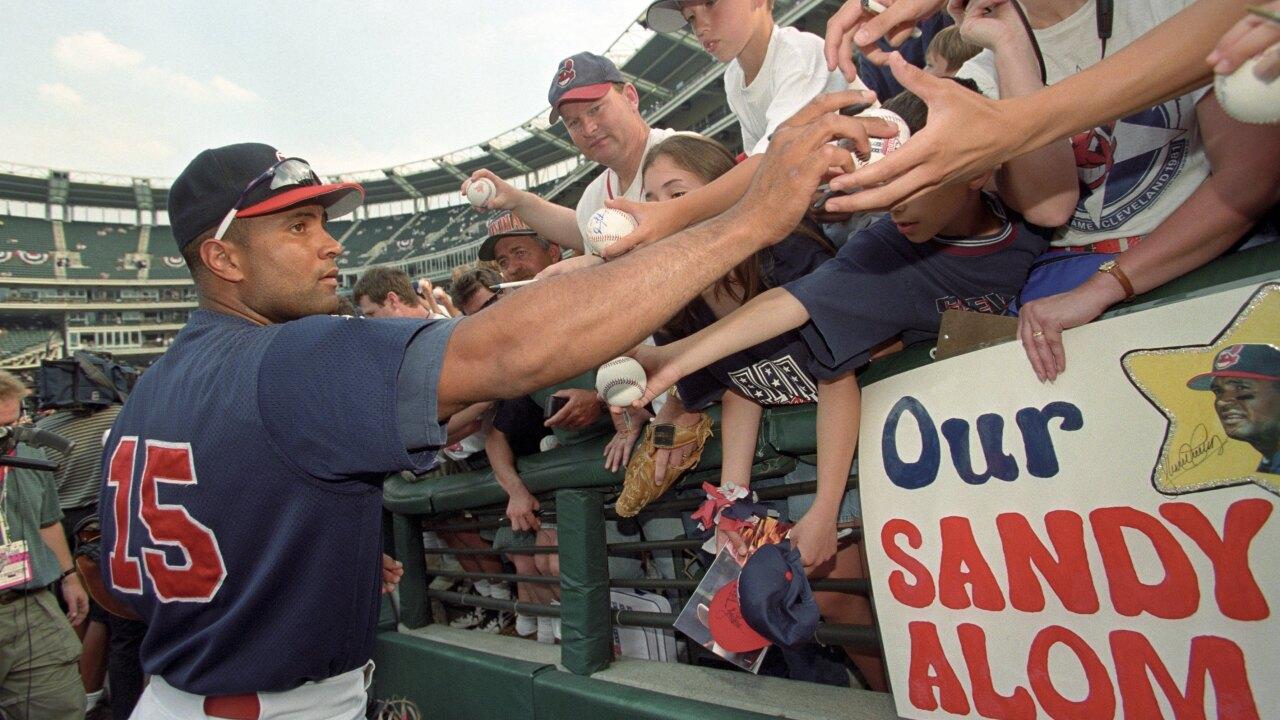 68th MLB All-Star Game Sandy Alomar Jr.