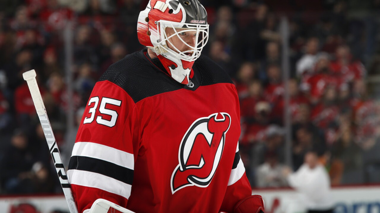 Devils switching goalies for Game 3 of series vs. Lightning