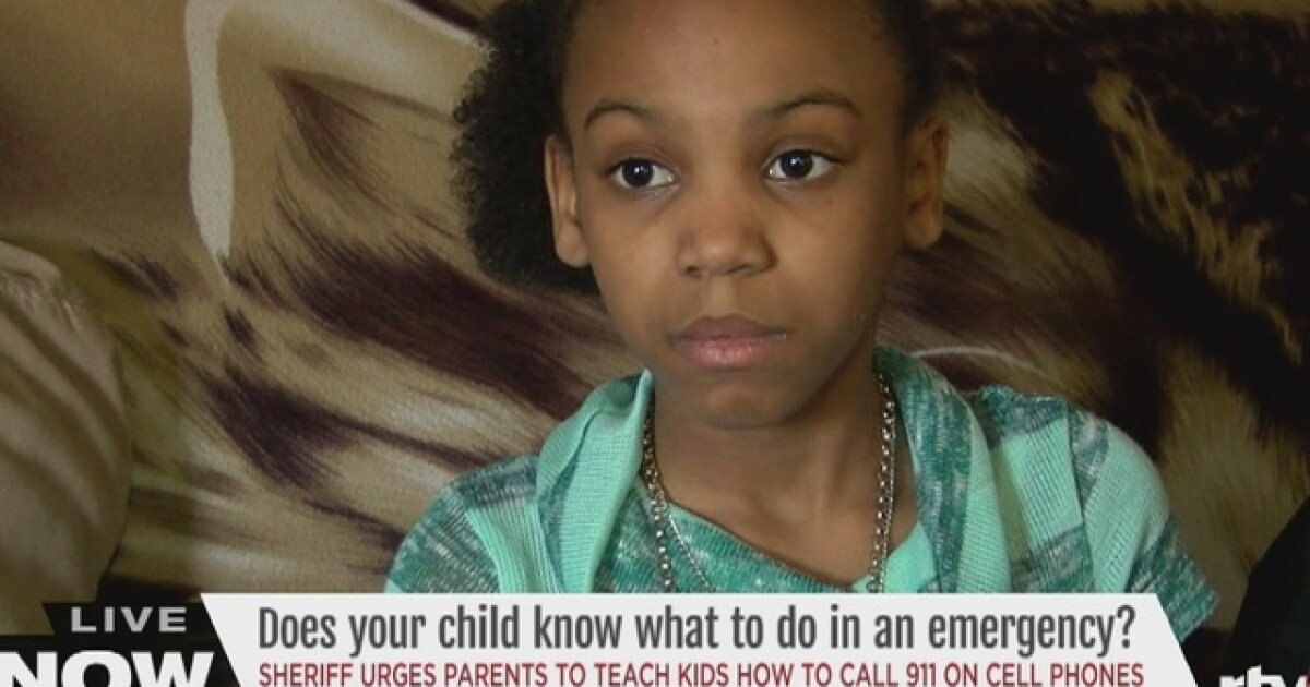 Asking kids to call 911 not so easy anymore