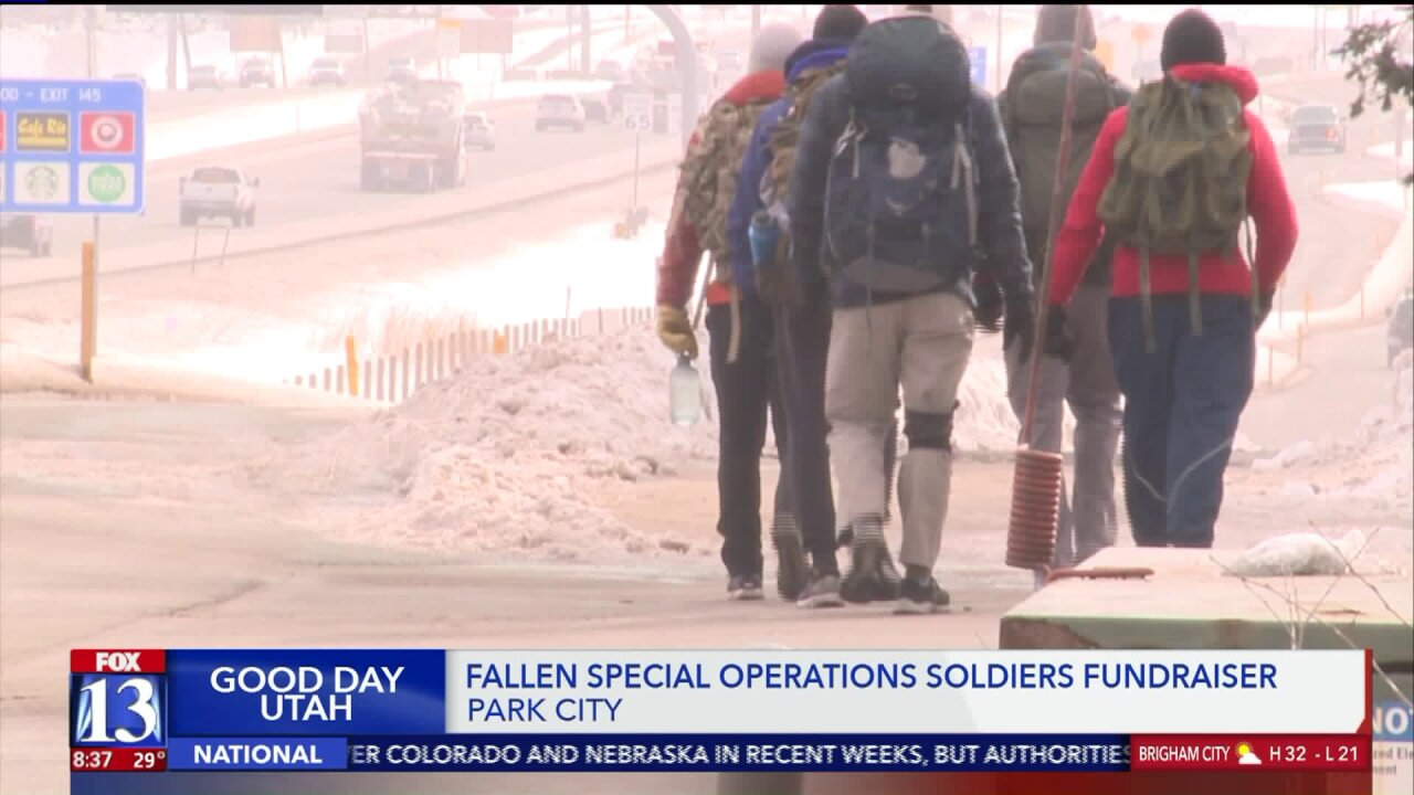 Students walk 1,000 miles to raise money for families of fallen soldiers