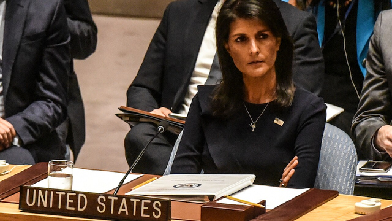 Haley calls Russian interference 'warfare'