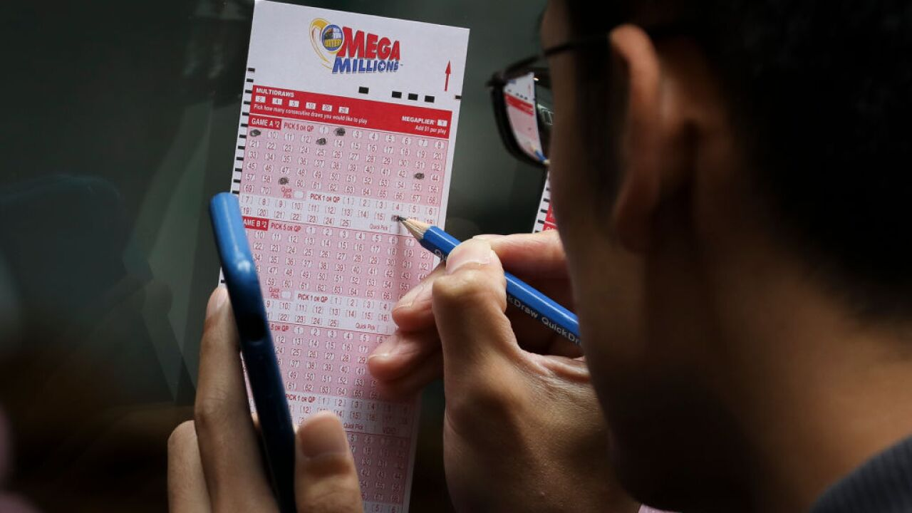 Mega Millions jackpot goes up to nearly half a billion dollars