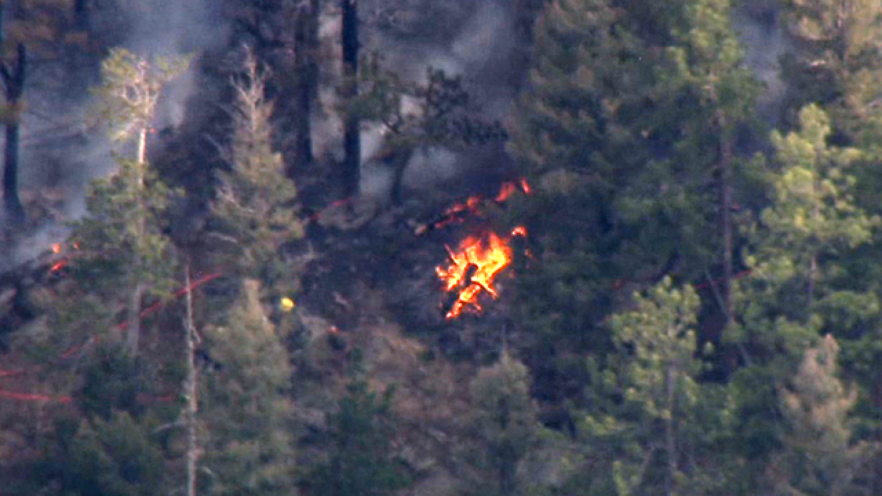 Wildfire near Conifer in Jefferson County prompts evacuations