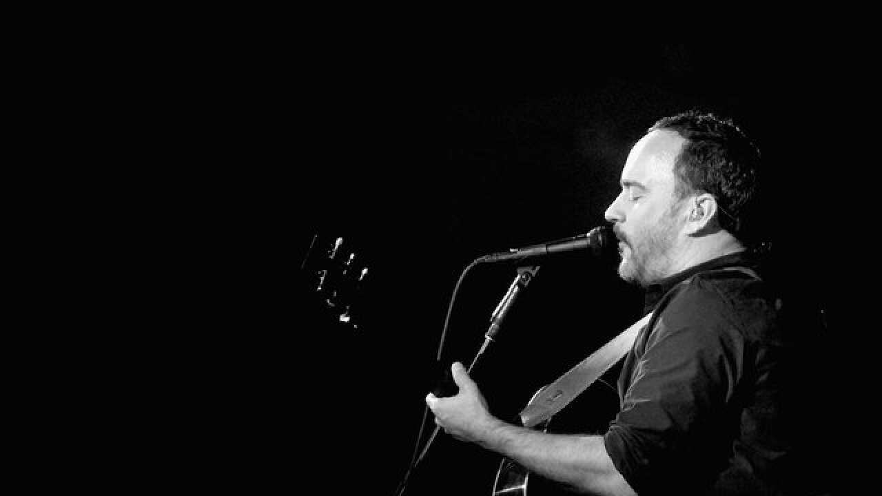 Musician Dave Matthews joins Tim Kaine at political rally in Denver Monday