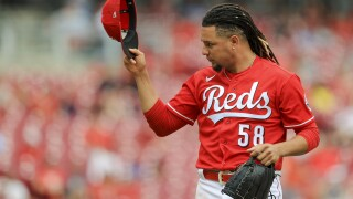 Twins Reds Baseball