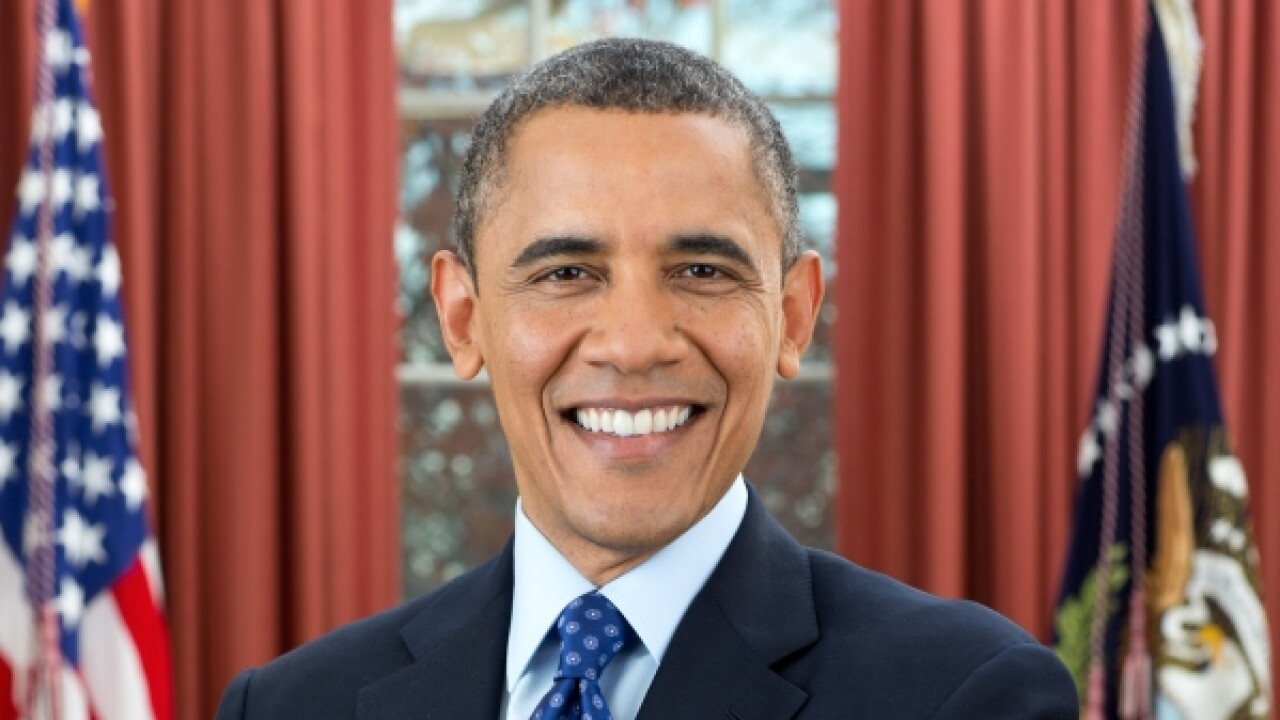 Barack Obama - Official Presidential Photo