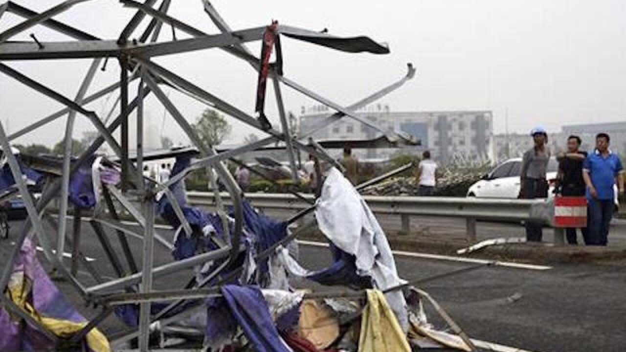 Tornado kills dozens in eastern China