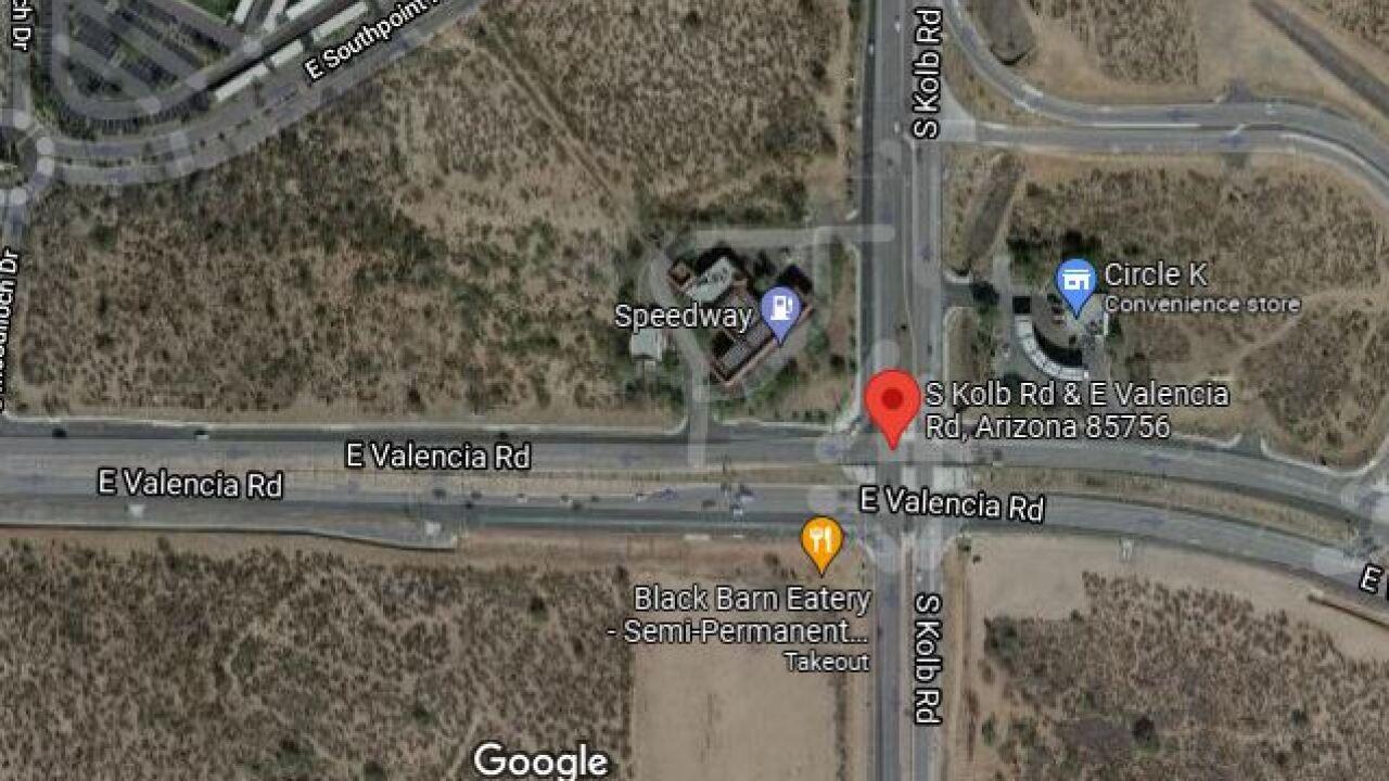 A 31-year-old man died following a Saturday wreck near Kolb and Valencia.