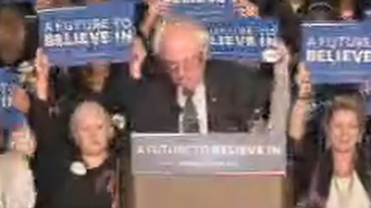 PICS: Sanders tries to sway key Super Tues. vote