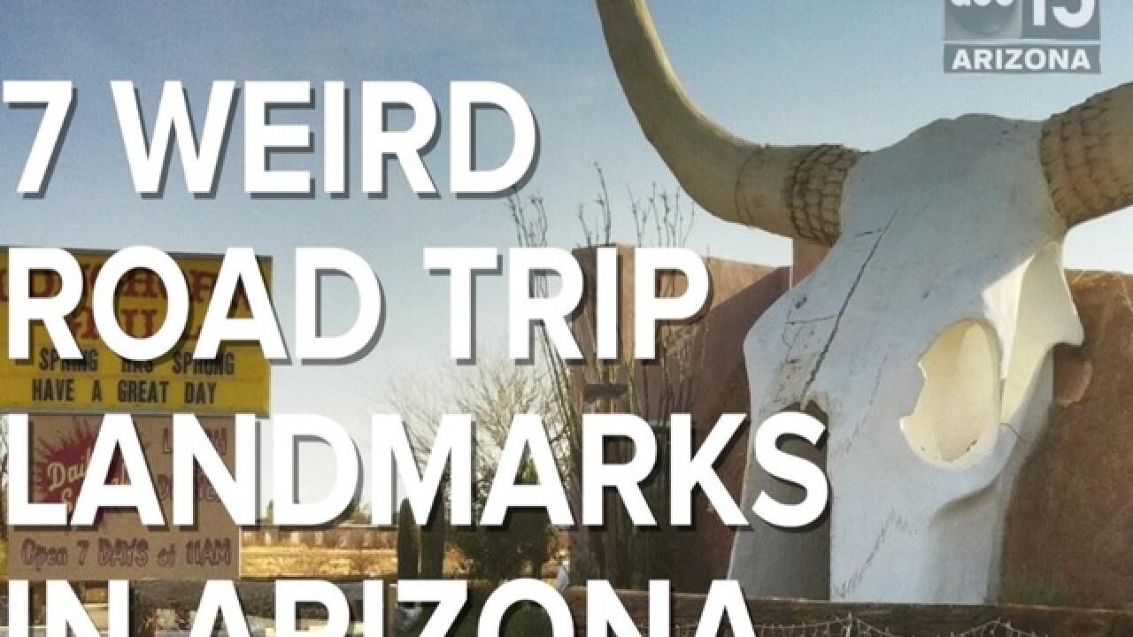 7 weird road trip landmarks in Arizona