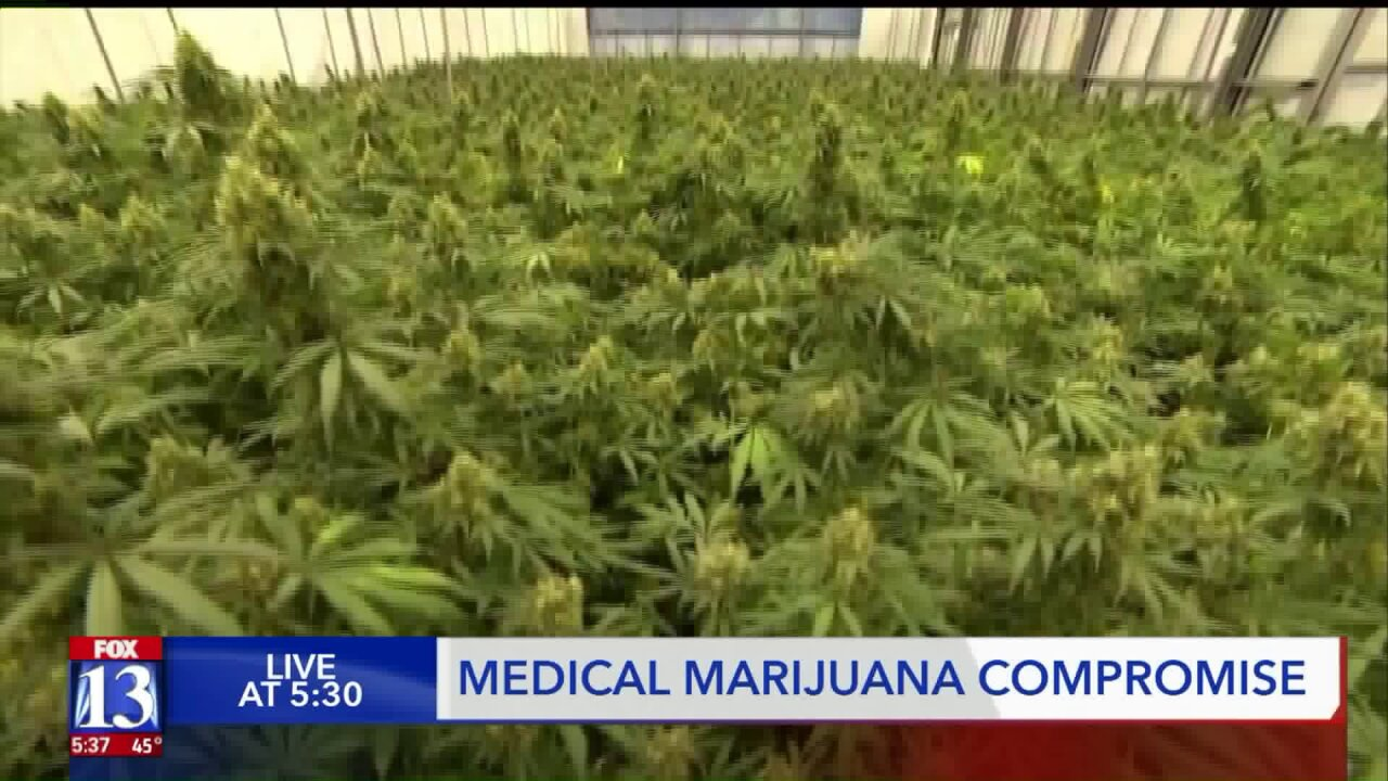 Utah's medical marijuana initiative is about to get swapped out with a compromise bill in thelegislature