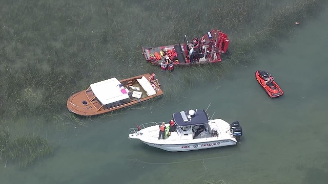 Coast Guard responds to jet ski accident