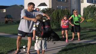 Your Healthy Family: Keep kids backpacks light and worn right
