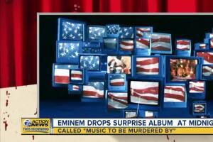 Eminem drops surprise album at midnight