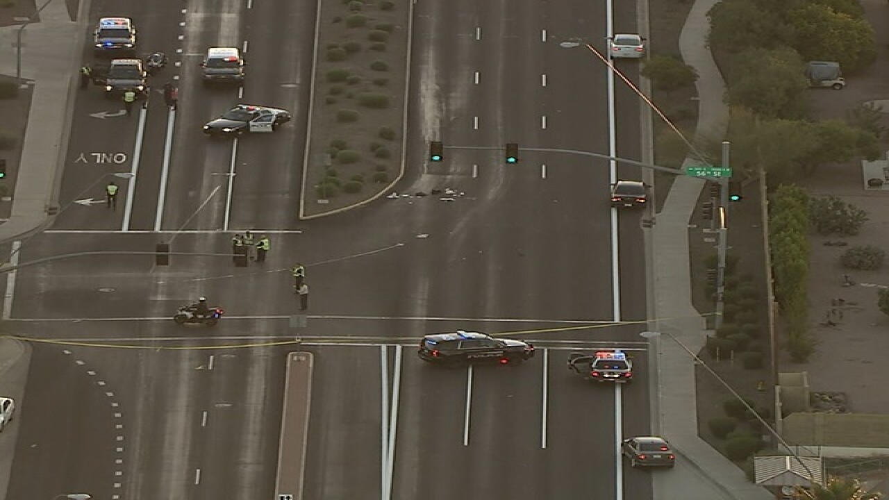 PD: 7-year-old hurt in Mesa hit-and-run dies